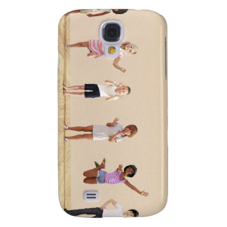 Happy Children in a Day Care or Daycare Center Galaxy S4 Case