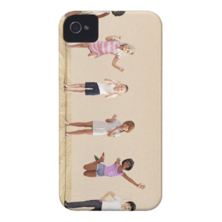 Happy Children in a Day Care or Daycare Center iPhone 4 Covers