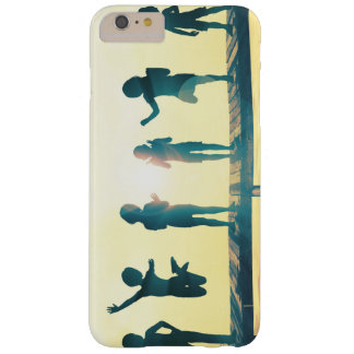 Happy Children Playing in the Park Illustration Barely There iPhone 6 Plus Case