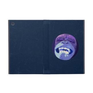 Happy Chimpanzee monkey face iPad Mini Cover