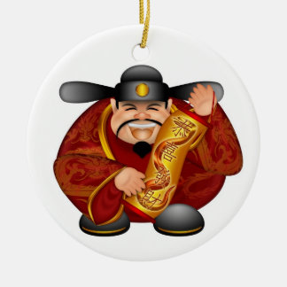 Happy Chinese Lunar New Year Ornament