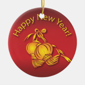 Happy Chinese New Year! Christmas Ornament