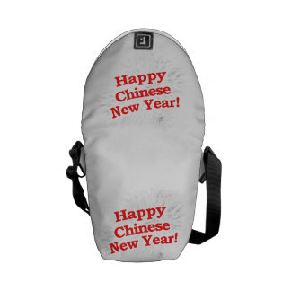 Happy Chinese New Year Design Courier Bag