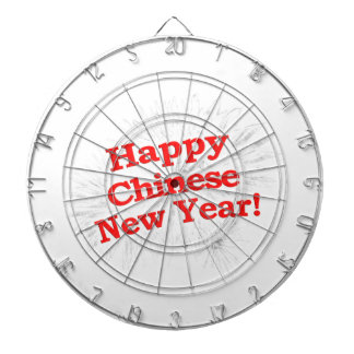 Happy Chinese New Year Design Dartboard