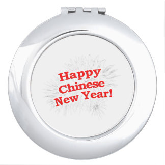 Happy Chinese New Year Design Makeup Mirror