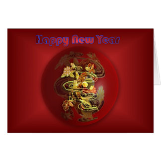Happy Chinese New Year koi Vietnamese New Year Card
