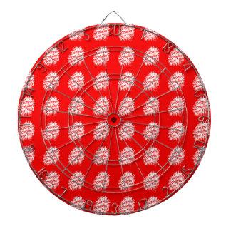 Happy Chinese New Year Pattern Dartboard