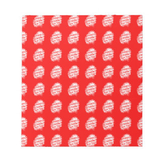 Happy Chinese New Year Pattern Notepad