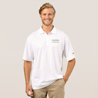 Happy Chrismukkah Christmas Hanukkah Typography Polo Shirt