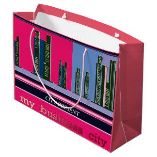 Happy Christmas Business City Gift Bag