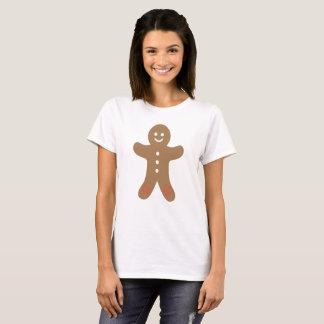Happy Christmas Gingerbread Man T-Shirt