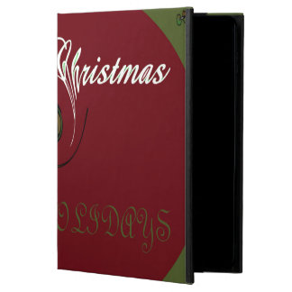 Happy Christmas Holiday iPad Air Case