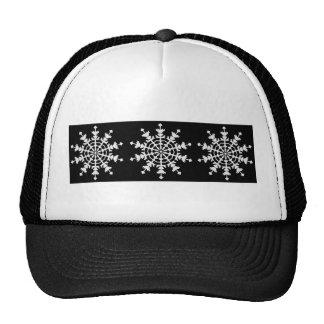 Happy Christmas - Ice Crystal - Snow Flake Mesh Hats
