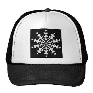 Happy Christmas - Ice Crystal - Snow Flake Mesh Hat
