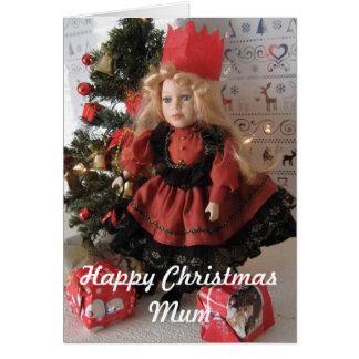 Happy Christmas Mum Greeting Card