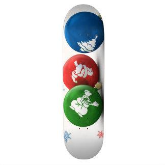 Happy Christmas Ornaments Skateboards