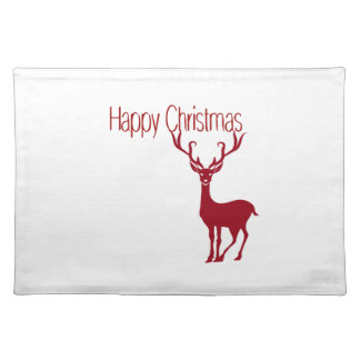 happy Christmas Placemat