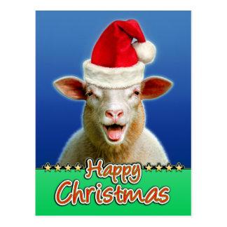 Happy Christmas Postcard
