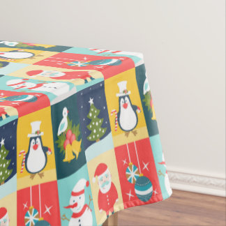 Happy Christmas Tablecloth