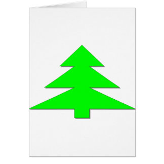 Happy Christmas Tree Card