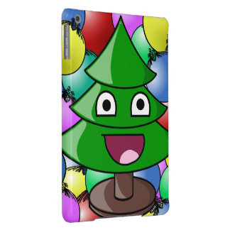 Happy Christmas Tree Cover For iPad Air