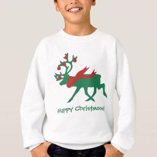 Happy Christmoose Child's Christmas Sweatshirt