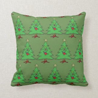 ***HAPPY CHRSTMAS TREES*** CHRISTMAS PILLOW