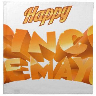 Happy Cinco De Mayo Banner Napkin