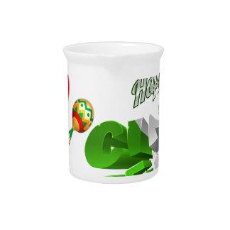 Happy Cinco De Mayo Chilli Pepper Design Pitcher