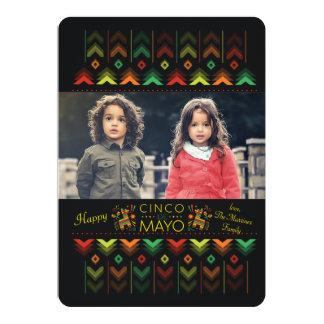 Happy Cinco de Mayo Photo Card 13 Cm X 18 Cm Invitation Card