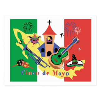 Happy Cinco de Mayo Postcard