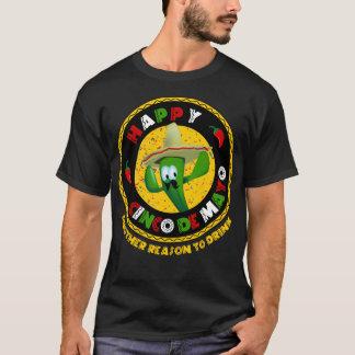 Happy Cinco de Mayo Reason to Drink Party T-Shirt