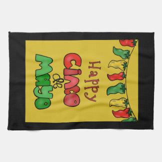 Happy Cinco de Mayo Tea Towel