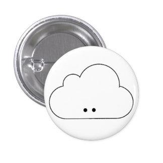 Happy Cloud 3 Cm Round Badge