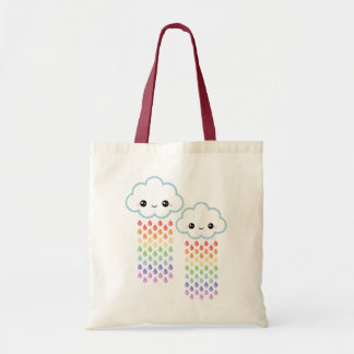 Happy Clouds Budget Tote Bag