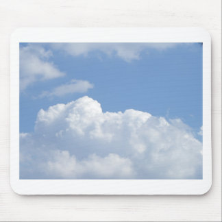 Happy Clouds Mouse Pad