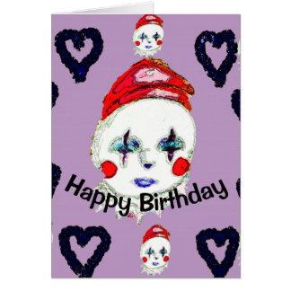 Happy Clown, Birthday card