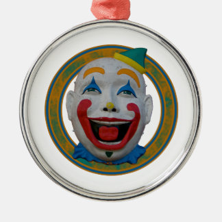 Happy Clown Metal Ornament