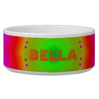 Happy Colors Large Pet Bowl
