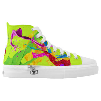 Happy Colors Shoes Printed Shoes