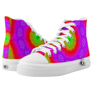 Happy Colors  Zipz High Top Shoes Printed Shoes