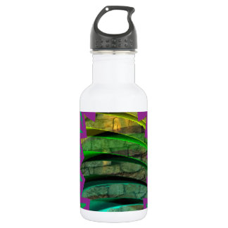 Happy Colourful t-Shirts Star graphic design gift 532 Ml Water Bottle