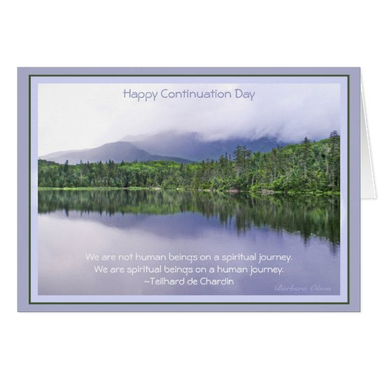 Happy Continuation Day:Celebrating Journey of Life Card