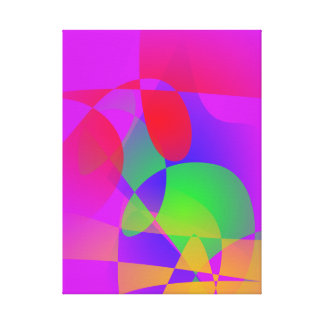 Happy Contrast Gallery Wrap Canvas
