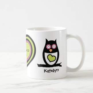 Happy Couple Owl Pair Mug