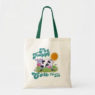 happy cow canvas bags