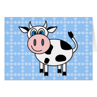 Happy Cow - Customizable! Cards