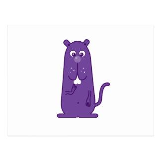 Happy Creature Postcard