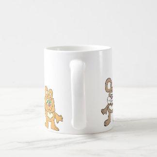 Happy Critters. Basic White Mug