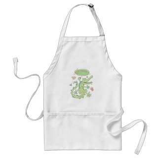 Happy crocodile standard apron